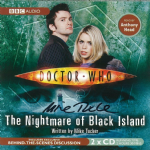 "Doctor Who ""The Nightmare of Black Island"" (CD COVER ONLY) signed by Mike Tucker 2400"